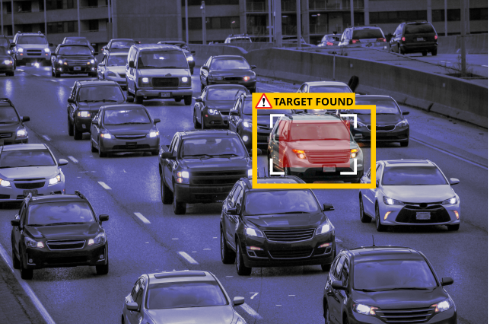 Car Being Tracked Through Technology