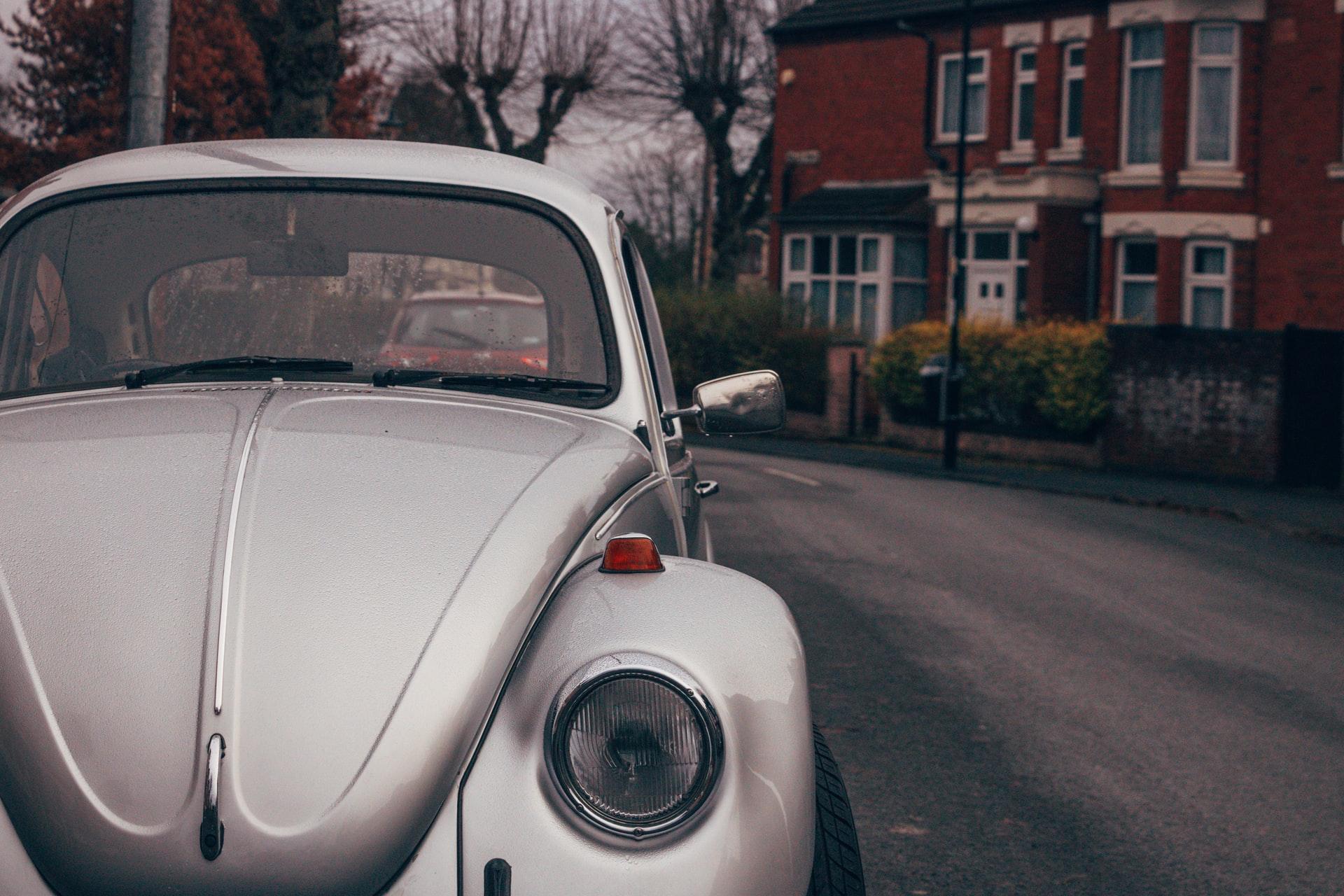 Volkswagen Beetle on UK Street